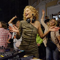 Daria Kolomiec. Вечірка на балконі-7 Daria Kolomiec Musical journal